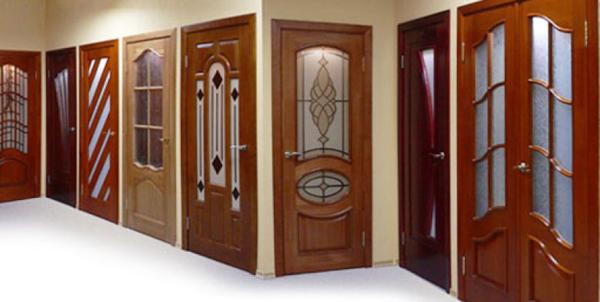 шпонированные межкомнатные двери от производителя. оптом