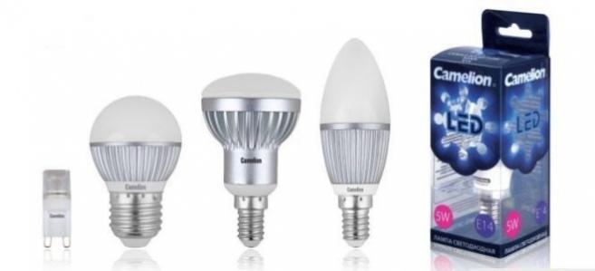 Выбор светодиодных ламп в интернет магазине