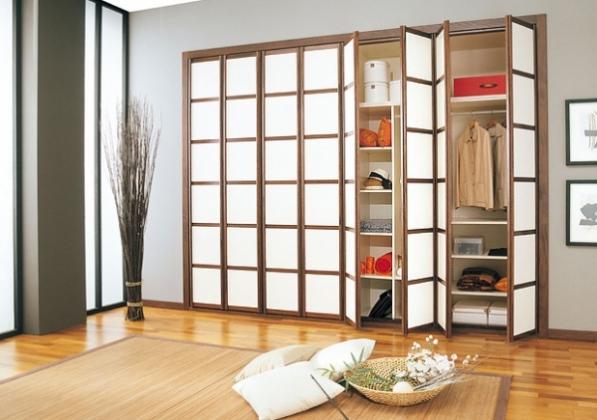 встроенный шкаф в квартире - оптимальное решение